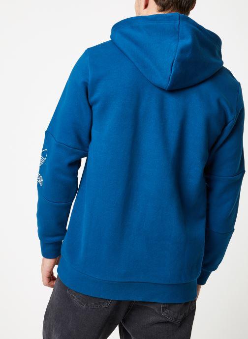 adidas Originals Outline Hoodie Dunkelblau Kleidung