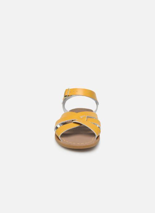 Sandales et nu-pieds Salt-Water Original Jaune vue portées chaussures