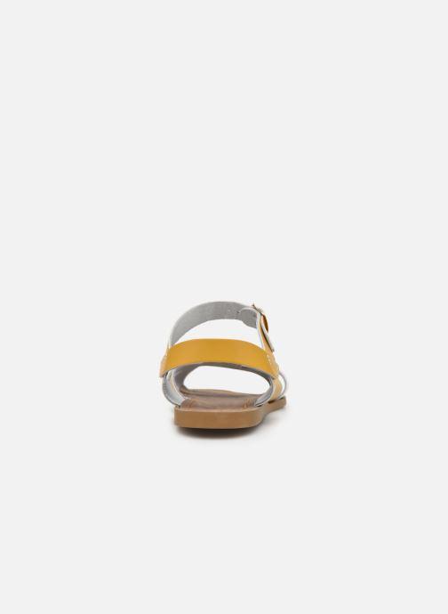 Sandales et nu-pieds Salt-Water Original Jaune vue droite