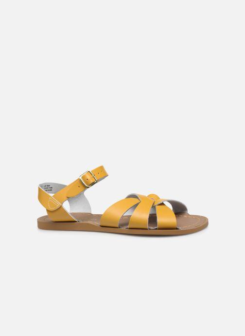 Sandales et nu-pieds Salt-Water Original Jaune vue derrière