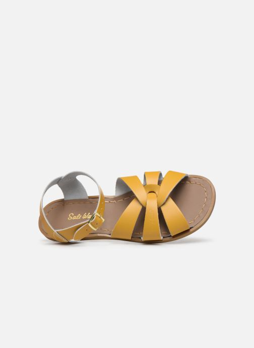 Sandalias Salt-Water Original Amarillo vista lateral izquierda