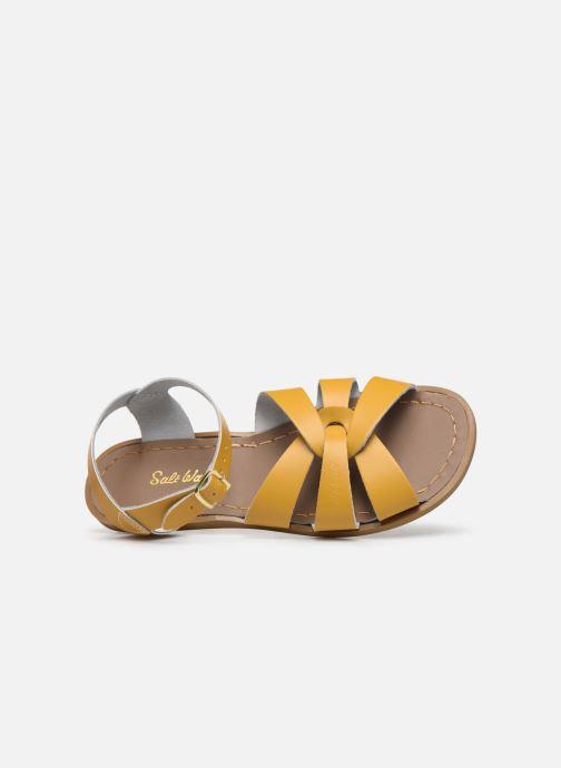 Sandales et nu-pieds Salt-Water Original Jaune vue gauche
