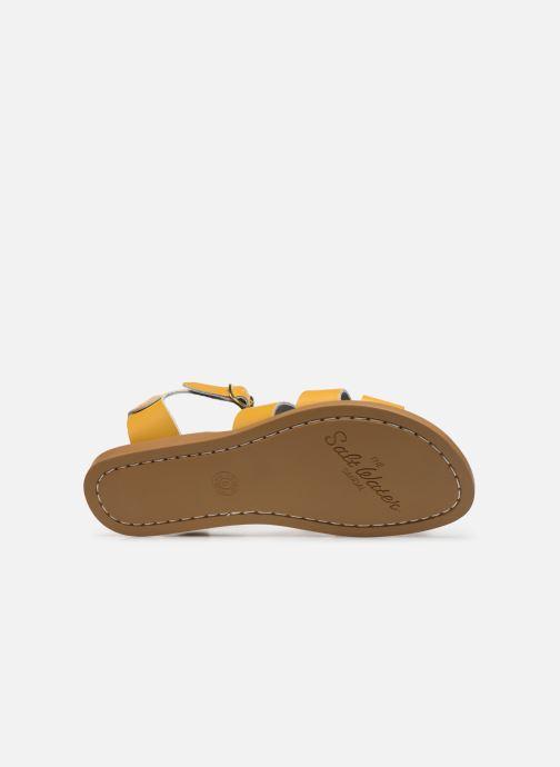 Sandales et nu-pieds Salt-Water Original Jaune vue haut
