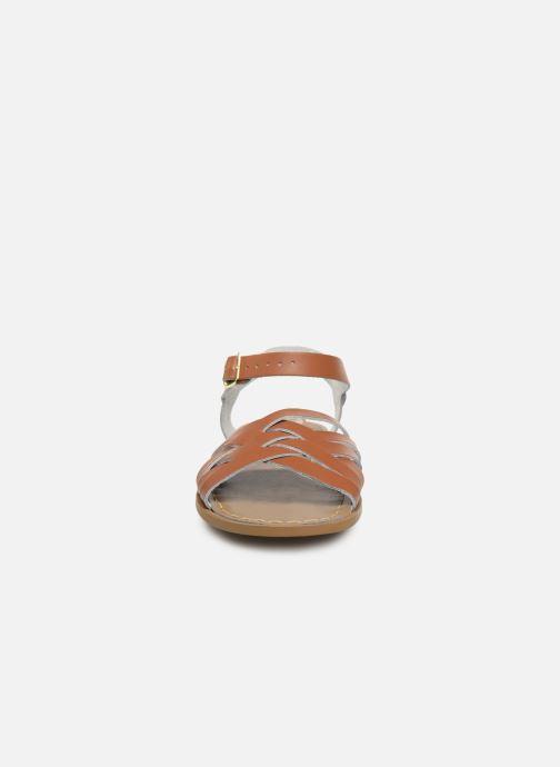 Sandales et nu-pieds Salt-Water Retro Marron vue portées chaussures