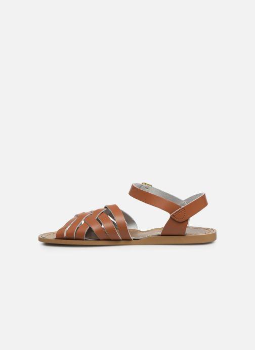 Sandales et nu-pieds Salt-Water Retro Marron vue face