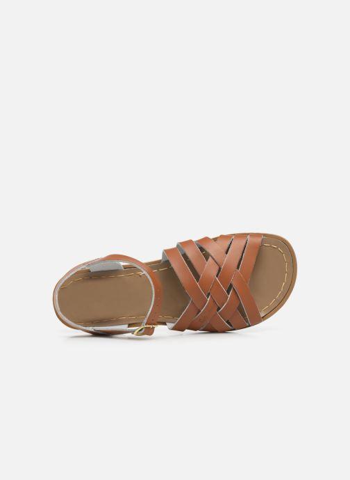 Sandales et nu-pieds Salt-Water Retro Marron vue gauche