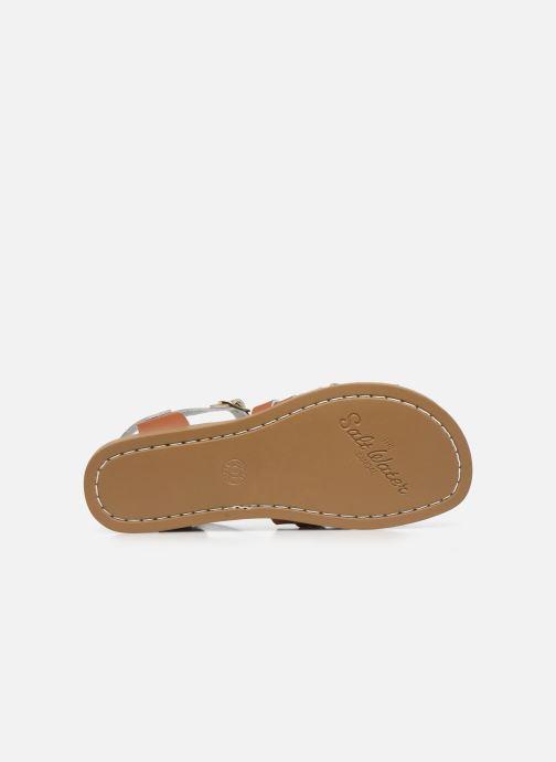 Sandales et nu-pieds Salt-Water Retro Marron vue haut