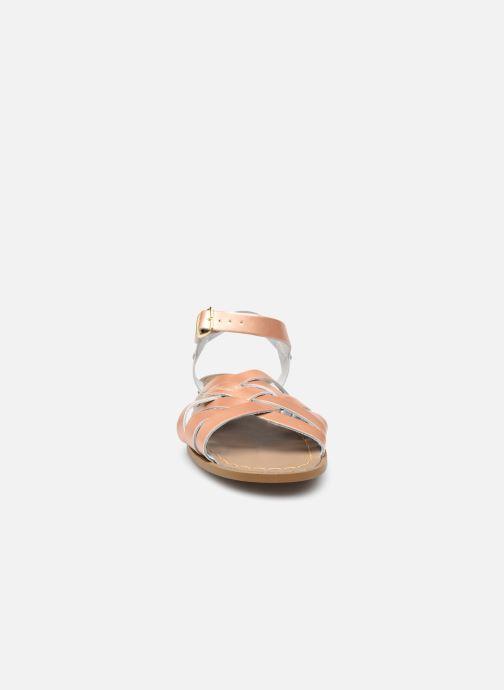 Sandalen Salt-Water Retro rosa schuhe getragen