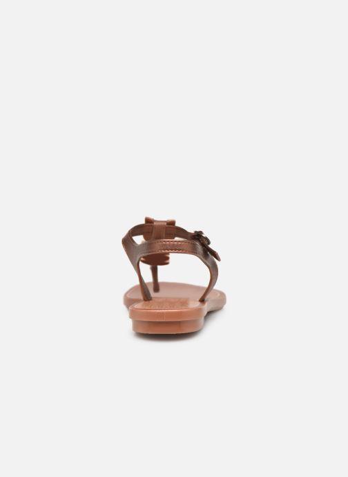 Sandales et nu-pieds Grendha Glamorous Sandal Or et bronze vue droite