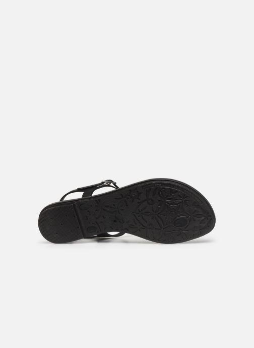 Sandales et nu-pieds Grendha Glamorous Sandal Noir vue haut