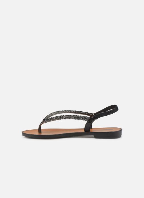 Sandales et nu-pieds Grendha Acai Tropicalia Sandal Noir vue face