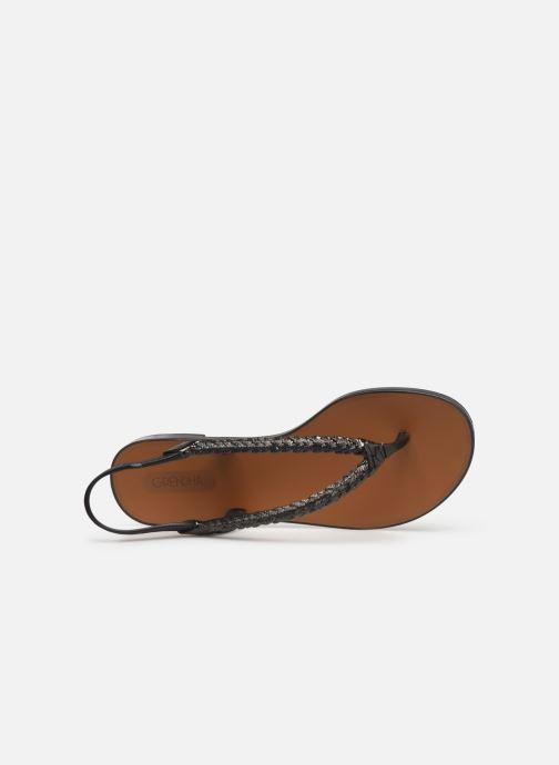 Sandales et nu-pieds Grendha Acai Tropicalia Sandal Noir vue gauche