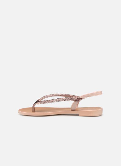 Sandales et nu-pieds Grendha Acai Tropicalia Sandal Rose vue face
