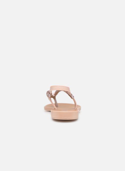 Sandales et nu-pieds Grendha Acai Tropicalia Sandal Rose vue droite