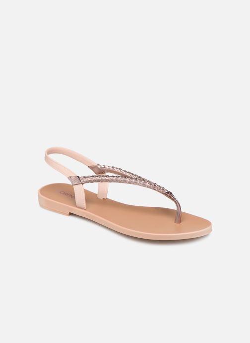 Sandals Grendha Acai Tropicalia Sandal Pink detailed view/ Pair view