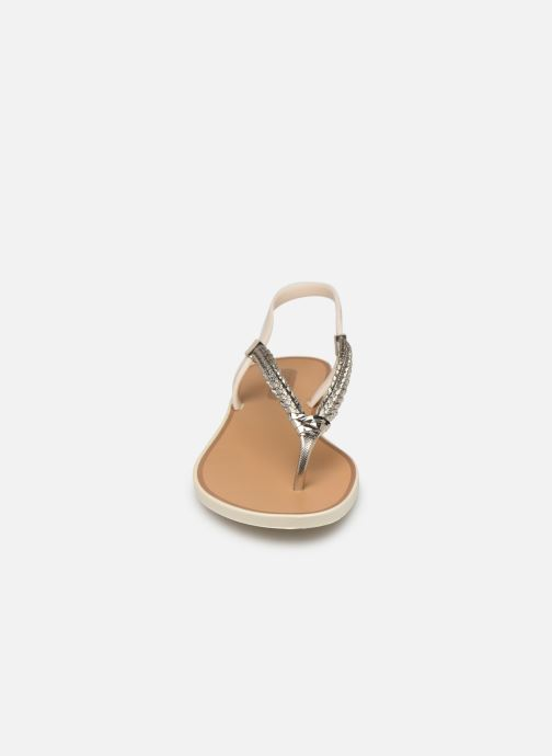 Sandales et nu-pieds Grendha Acai Tropicalia Sandal Or et bronze vue portées chaussures