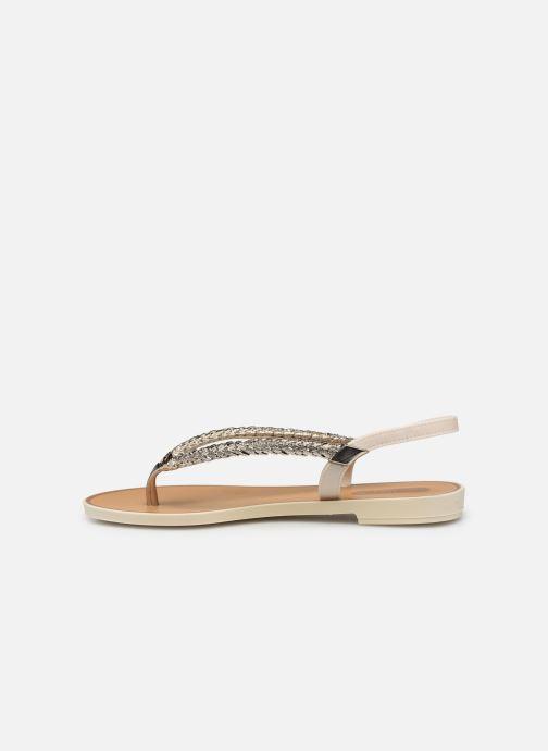 Sandales et nu-pieds Grendha Acai Tropicalia Sandal Or et bronze vue face
