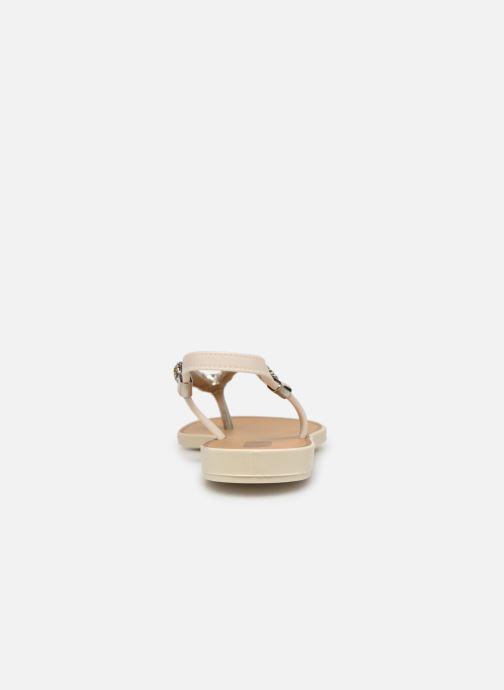 Sandales et nu-pieds Grendha Acai Tropicalia Sandal Or et bronze vue droite