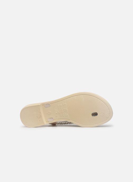 Sandales et nu-pieds Grendha Acai Tropicalia Sandal Or et bronze vue haut