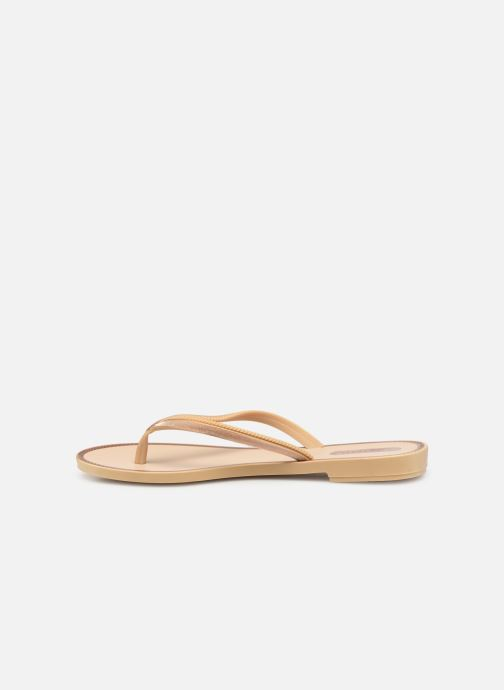 Flip flops Grendha Sol Thong Beige front view