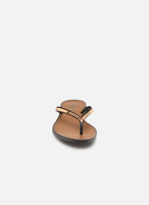 Tongs Grendha Sol Thong Noir vue portées chaussures