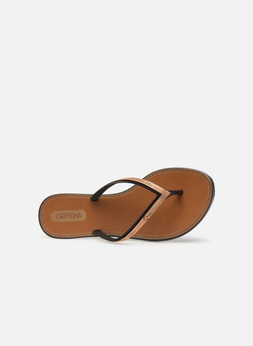 Flip flops Grendha Sol Thong Black view from the left
