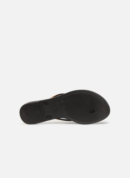 Flip flops Grendha Sol Thong Black view from above