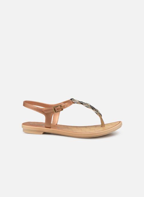 Sandales et nu-pieds Grendha Chains Sandal Or et bronze vue derrière