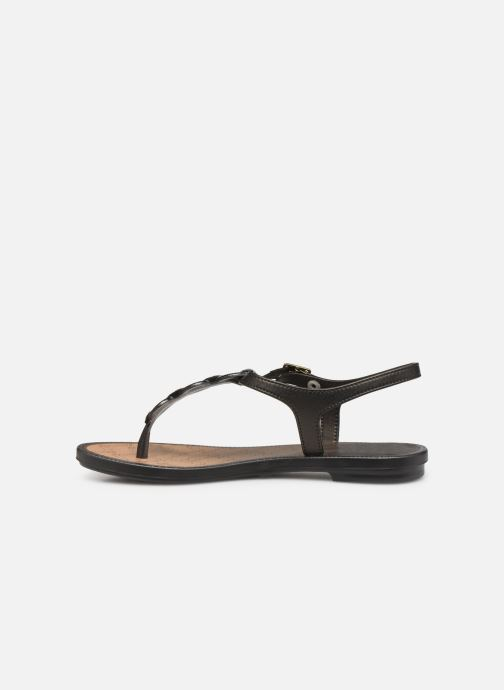 Sandals Grendha Chains Sandal Black front view
