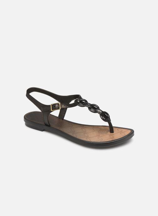 Sandalias Grendha Chains Sandal Negro vista de detalle / par