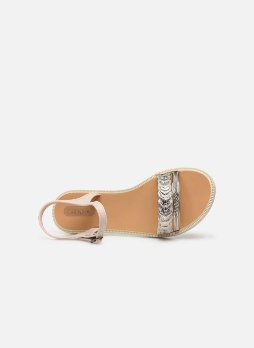 Sandales et nu-pieds Grendha Euforia Sandal Blanc vue gauche