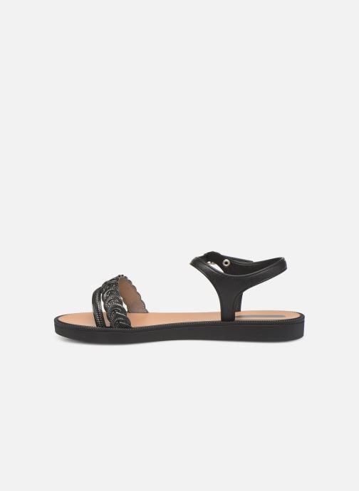 Sandalen Grendha Euforia Sandal schwarz ansicht von vorne