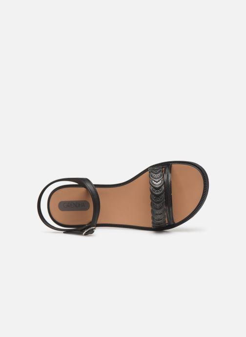 Sandalen Grendha Euforia Sandal schwarz ansicht von links