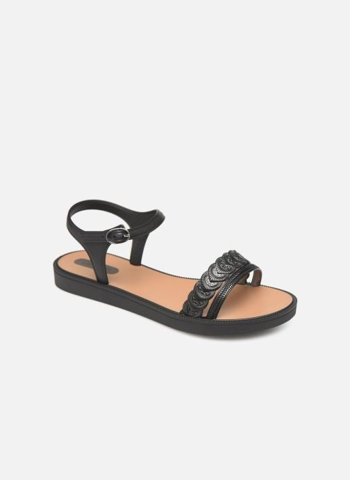 Sandals Grendha Euforia Sandal Black detailed view/ Pair view