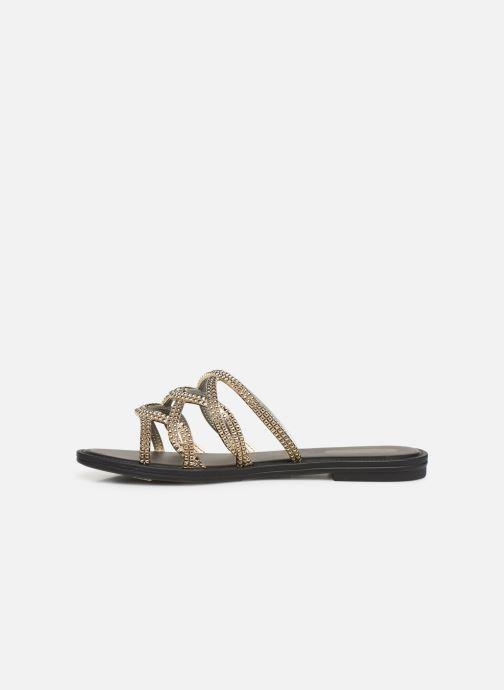 Clogs & Pantoletten Grendha Preciosidade Slide gold/bronze ansicht von vorne