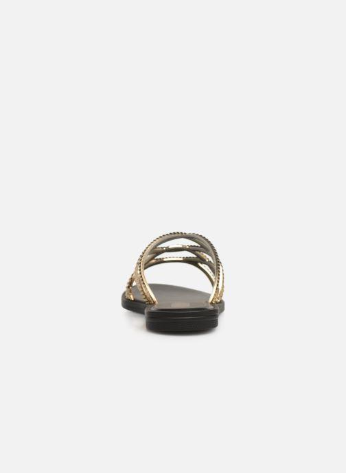 Clogs & Pantoletten Grendha Preciosidade Slide gold/bronze ansicht von rechts