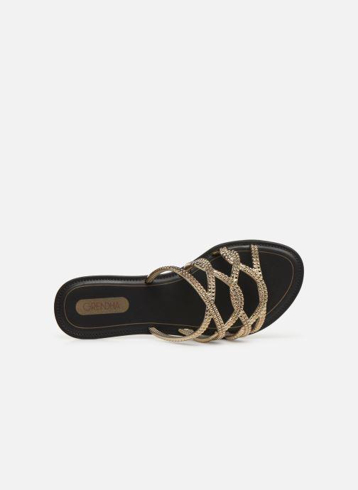 Clogs & Pantoletten Grendha Preciosidade Slide gold/bronze ansicht von links