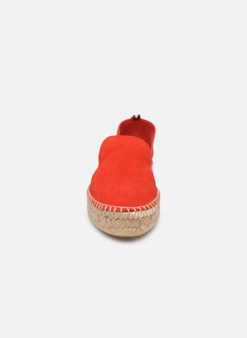 Espadrilles 1789 CALA Slip On Double Leather-C Rouge vue portées chaussures