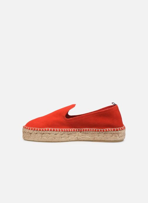Espadrilles 1789 CALA Slip On Double Leather-C Rouge vue face