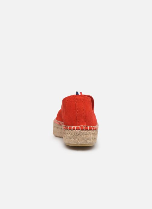 Espadrilles 1789 CALA Slip On Double Leather-C Rouge vue droite