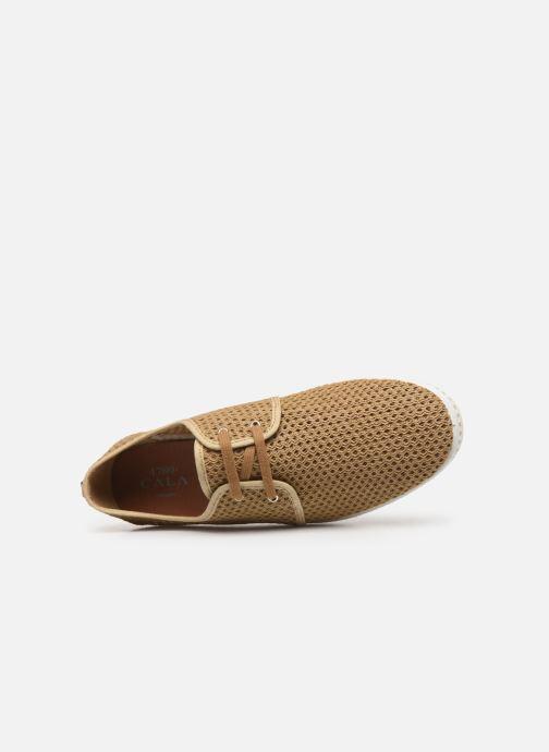 Chaussures à lacets 1789 CALA La Riva Héritage M-C Beige vue gauche
