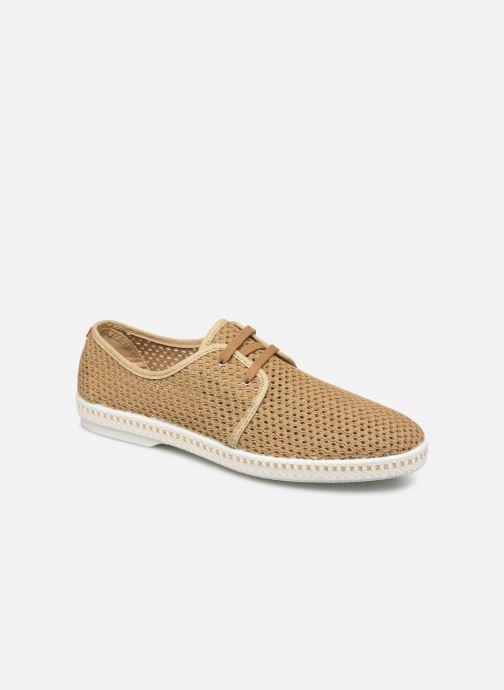Chaussures à lacets 1789 CALA La Riva Héritage M-C Beige vue détail/paire