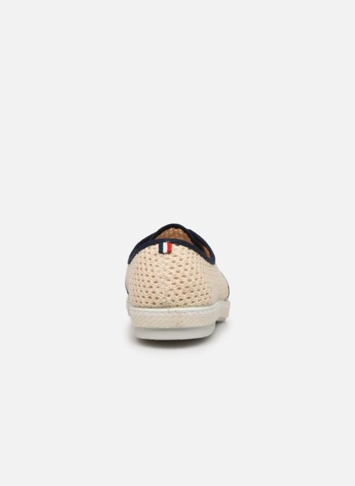 Zapatos con cordones 1789 CALA Riva Ppheritage Beige vista lateral derecha