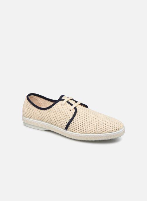 Zapatos con cordones 1789 CALA Riva Ppheritage Beige vista de detalle / par