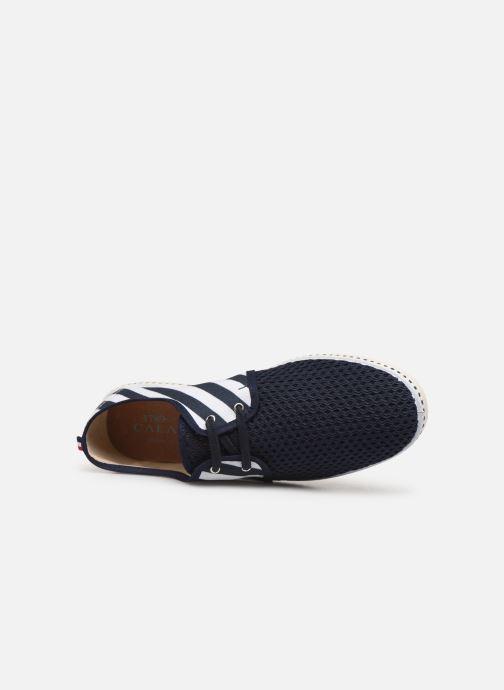 Scarpe con lacci 1789 CALA Riva Geo Azzurro immagine sinistra