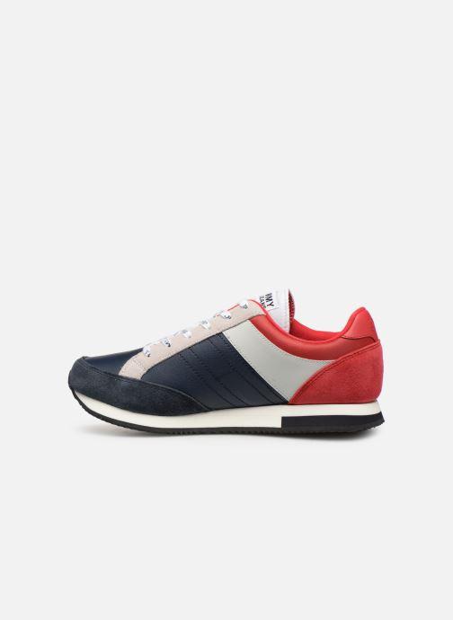Sneaker Tommy Hilfiger Casual Retro Sneaker mehrfarbig ansicht von vorne