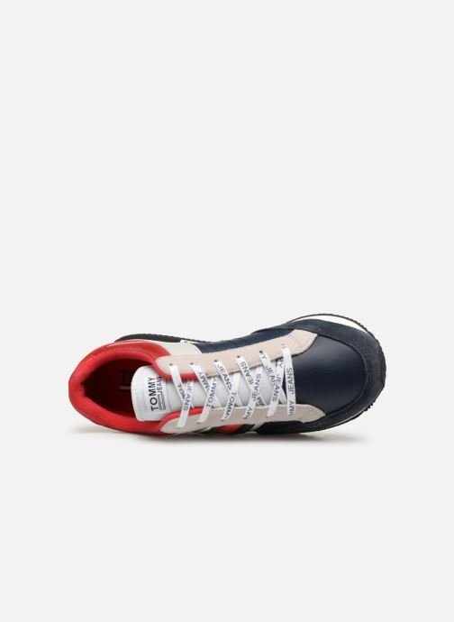 Sneaker Tommy Hilfiger Casual Retro Sneaker mehrfarbig ansicht von links