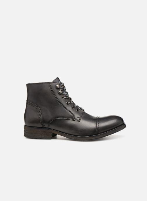Stiefeletten & Boots Tommy Hilfiger Dressy Leather Lace Up Boot schwarz ansicht von hinten