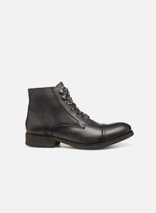 Stivaletti e tronchetti Tommy Hilfiger Dressy Leather Lace Up Boot Nero immagine posteriore