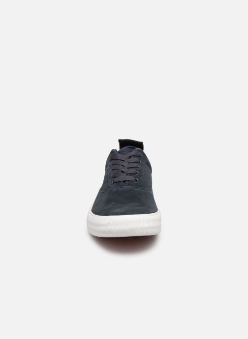 Sneaker Tommy Hilfiger Oxford City Sneaker blau schuhe getragen